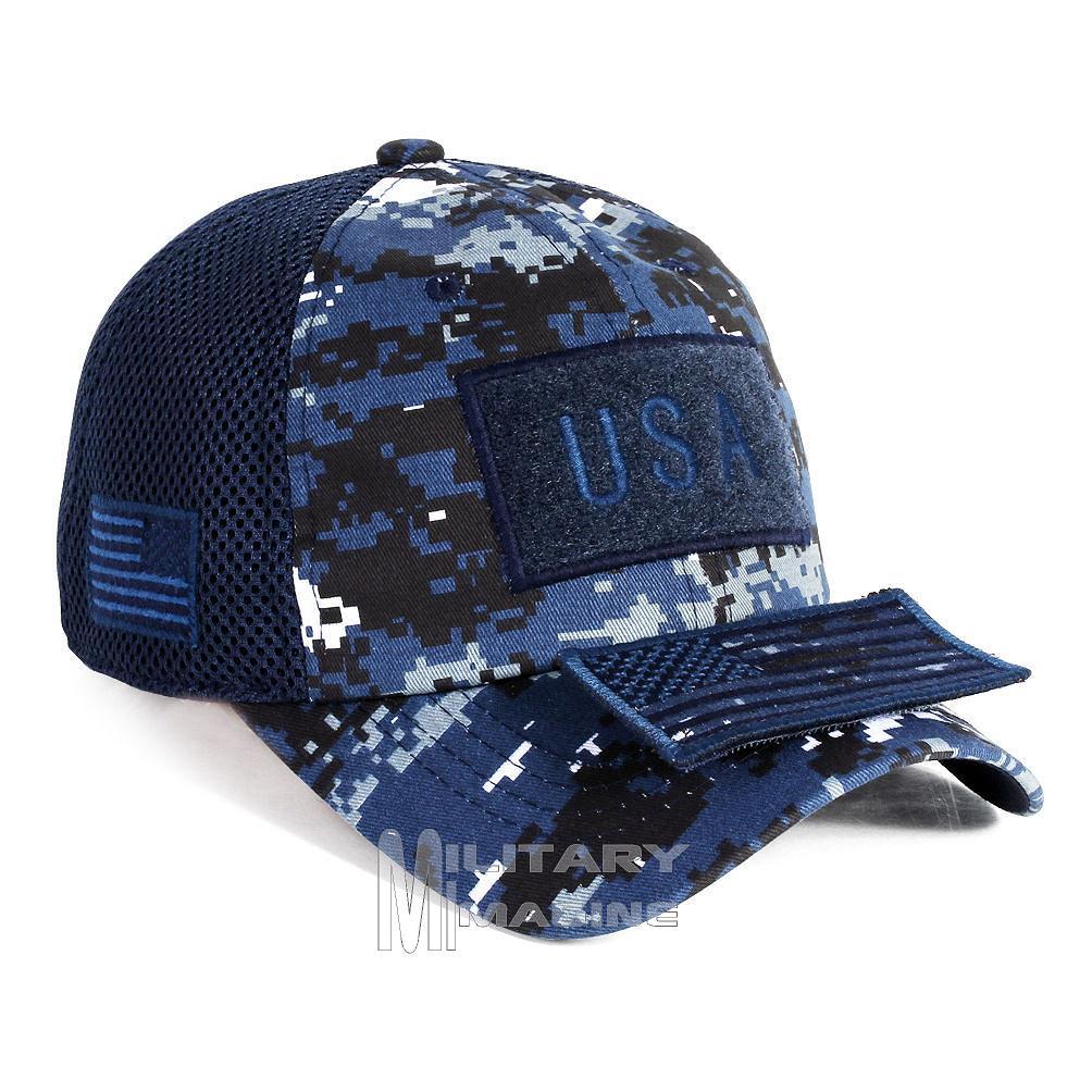 Tactical Operator Military cap USA American Flag hat Detachable Patch Micro  Mesh b4de2bc6116