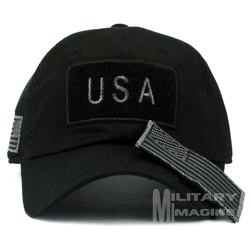 Tactical Operator Military Cap Usa American Flag Hat