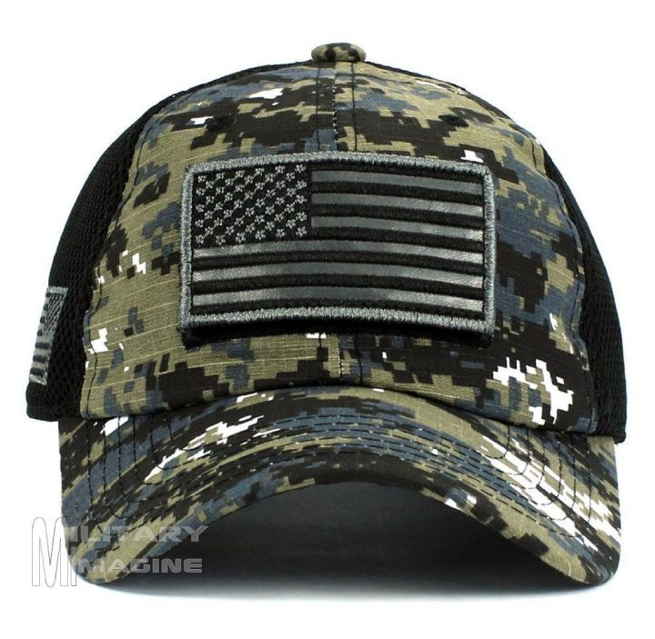 Tactical Operator Military cap USA American Flag hat Detachable ... d63b75d63aa