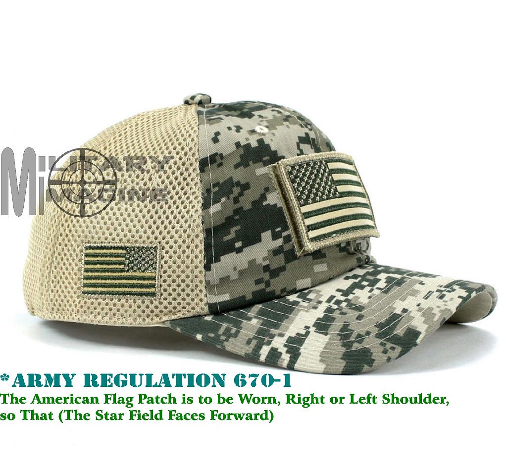 Tactical Operator Military cap USA American Flag hat Detachable ... 7eb29bf9b