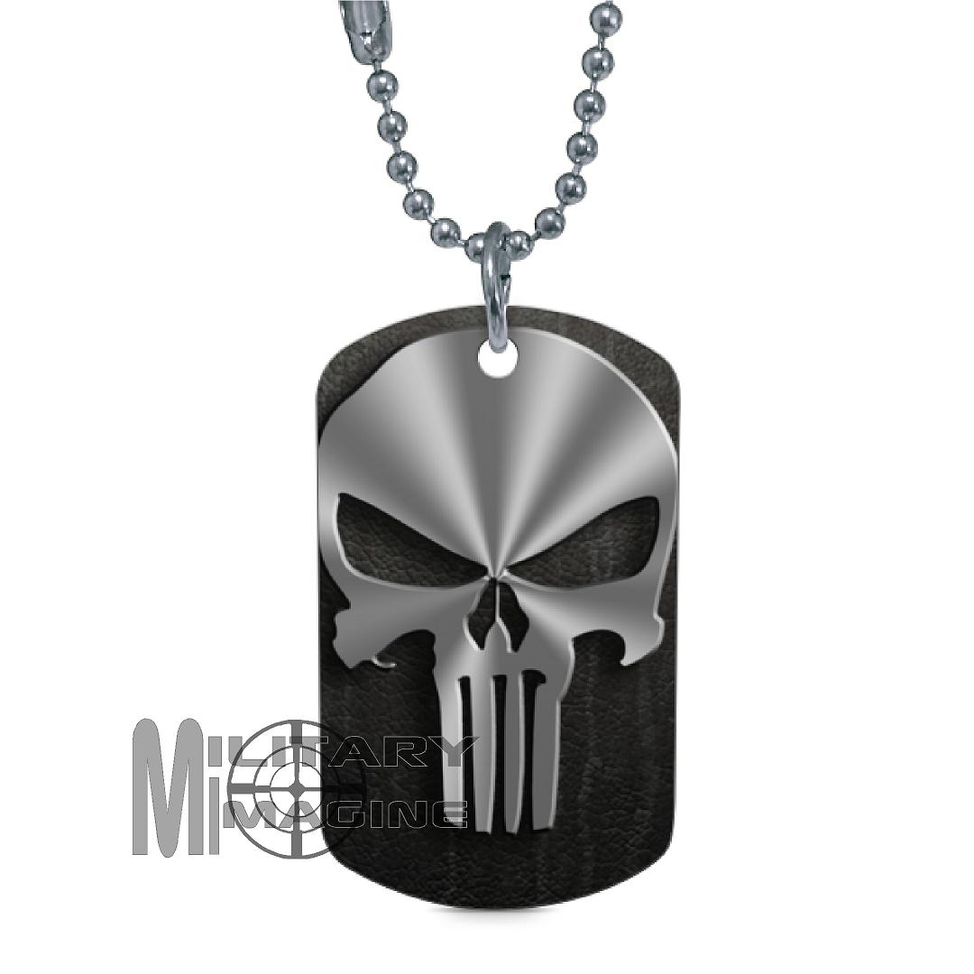pendant mens com dp black chain tags amazon style army dog military necklace