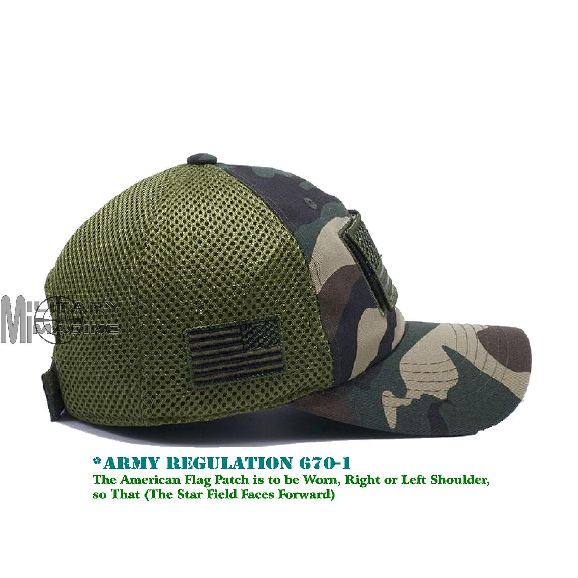 Tactical Operator Military cap USA American Flag hat Detachable ... a5049fc065e